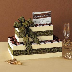 ジュエリッタ(ハートクッキー) 50個セット  白い箱にリボン付きパッケージにハートクッキーを詰め合...