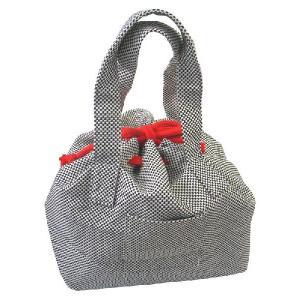 ギフト プレゼント 贈り物 和風 刺し子 トートバッグ(巾着タイプ)約32×33×20cm 一重刺し子 丈夫 おしゃれ バッグ ショルダーバッグ 手提げバッグ|delight-base