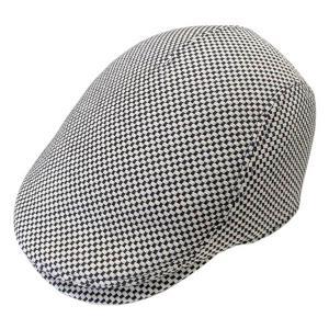 ギフト プレゼント (hanabi)華火 三河木綿 刺し子生地 ハンチング帽 サイズ調整可 日本製 (一重刺し子)|delight-base