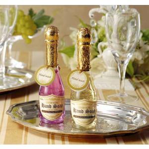シャンパンハンドソープ  シャンパン風デザインのゴージャスなハンドソープです。  企業様やお店の景品...