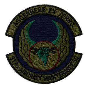 ASCENDERE EX TERRO 317th AIRCRAFT MAINTENANCE SQのワ...