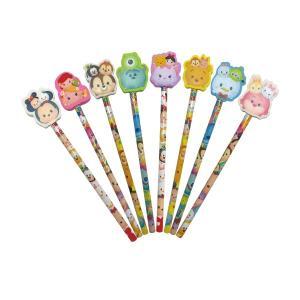 ディズニーファンシー 消しゴム付鉛筆 25本セット 子供 景品
