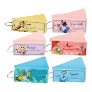 ディズニー 単語カード 10冊セット  人気ディズニーキャラクター「プリンセス」柄の単語帳です。 本...