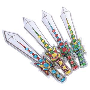 ゴッドソード 10個セット  かっこいい剣型のビニール玩具です。 ふくらませると約58cm。  子供...