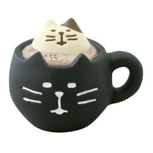 デコレ ハロウィン 黒猫ラテ ZHW-92549 コンコンブル DECOLE クリックポスト対応