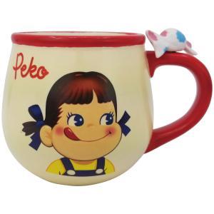 Peko ペコちゃん フィギュア付きマグ マグカップ 300ml レトロ かわいい メール便不可