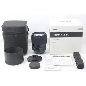 交換レンズ 送料無料 SIGMA シグマ 135mm F1.8 DG HSM Art ニコン用 付属...