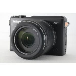 ミラーレス一眼カメラ 送料無料 ニコン Nikon 1 AW1 防水ズームレンズキット ブラック 別...
