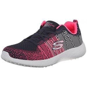 スケッチャーズ スニーカー トレーニング シューズ スリッポン フィットネスSkechers Burst Ellipse Charcoal Pink Womens Trainers Shoesレディース