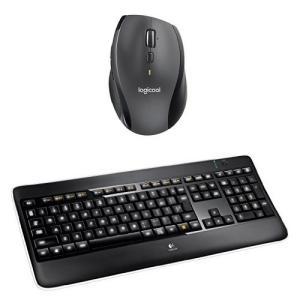ロジクール ワイヤレスマラソンマウスM705mと、イルミネートキーボード K800t のセット商品 ...
