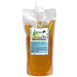 植物油由来成分からできた濃縮自然派洗剤「えがおの力(旧松の力)」500ml