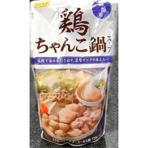 日本食研 鶏ちゃんこ鍋スープ 醤油味 ストレートタイプ|delistasuehiro