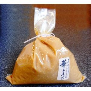 三年以上無農薬畑で栽培した大豆と天日塩で仕込んだ添加剤なしの逸品こだわり味噌です。  丸しぼりの赤と...