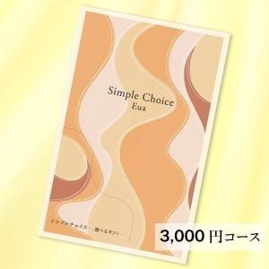 (3000円 コース) 薄型コンパクトカタログギフト シンプルチョイス G-CO Eua エウア deliverydelight