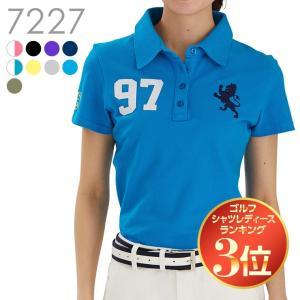 97番ポロシャツ 上品 雑誌掲載 レディースゴルフウェア delsol-golf