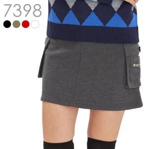 裏ボア付カーゴスカート(丈長め) 裏ボア L LL 大きさサイズ レディースゴルフウェア delsol-golf