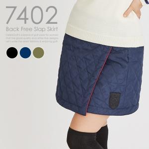 裏フリースラップスカート 暖か 大きいサイズ レディースゴルフウェア delsol-golf