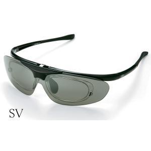AXE アックス はね上げ式偏光サングラス インナーフレーム付きで度付きOK!SG-240P-SV|delta