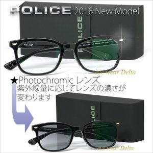 POLICE ポリス サングラス 2018年 最新モデル SPL747J-700W Photchromic 調光レンズ|delta
