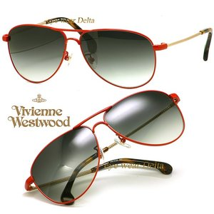 Vivienne Westwood ヴィヴィアンウエストウッド サングラス VW-4702-RD delta