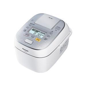 パナソニック スチーム&可変圧力IHジャー炊飯器(5.5合炊き) SR-SPX106-W(スノークリスタルホワイト)|den-mart