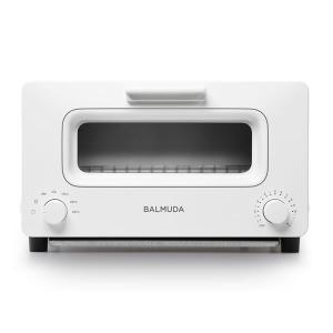 バルミューダ 5ccボイラースチーム搭載 BALMUDA The Toaster ホワイト K01E-WS|den-mart