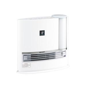 シャープ 加湿機能付セラミックヒーター HX-G120-W 暖房器具 プラズマクラスター7000搭載|den-mart