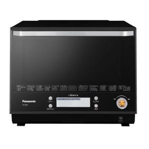 パナソニック スチームオーブンレンジ NE-BS804-K 30L ブラック|den-mart