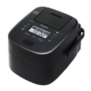 炊飯器 5合炊きクラス(5.5号) パナソニック SR-VSX109-K Wおどり炊きスチーム 可変 圧力IH ジャー ホワイト|den-mart