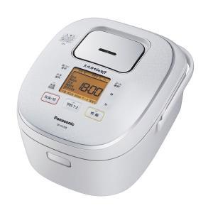 パナソニック IHジャー炊飯器 5.5合炊き 大火力おどり炊き 全面発熱5段IH SR-HX108-W スノーホワイト|den-mart