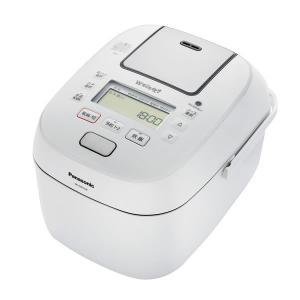 パナソニック 可変圧力 IHジャー 炊飯器 5.5合炊き Wおどり炊き 全面発熱6段IH SR-PW109-W ホワイト|den-mart