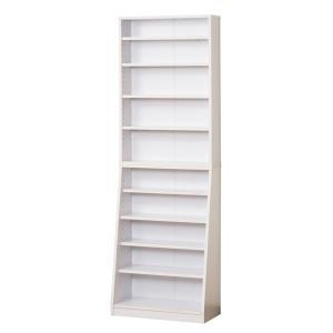 クロシオ SOHO書棚 W60 組立式 031131 ホワイト|den-mart