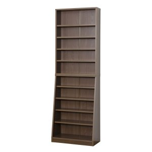 クロシオ SOHO書棚 W60 組立式 031141 ウォルナット|den-mart