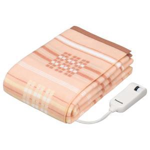 電気毛布 DB-R40L-D パナソニック 電気かけしき 手洗い 洗濯機洗い 可能 シングルLサイズ|den-mart