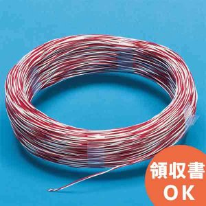 2VJ 0.5X2C 伸興電線 0.5mm スズメッキ軟銅線採用! PVCジャンパ線 0.5mm×2C 200m|denchiya
