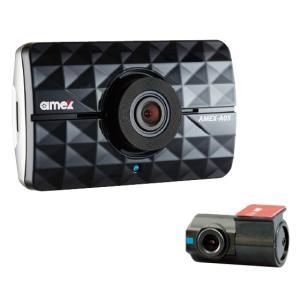 AMEX-A05W 青木製作所 フロントリア映像のダブル録画対応!ドライブレコーダー|denchiya