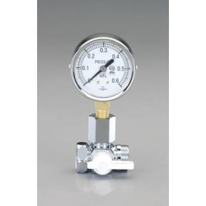 EA115F-2A エスコ 水圧テストゲージ|denchiya