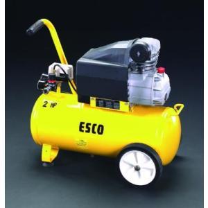 EA116SD エスコ AC100V/1.50kw エアーコンプレッサー(タンク 30L)|denchiya