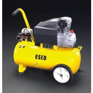 EA116SE エスコ AC100V/1.50kw エアーコンプレッサー(タンク 38L)|denchiya