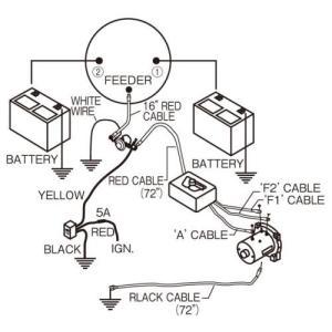 EA840DA-6A エスコ 175A バッテリー切替スイッチ