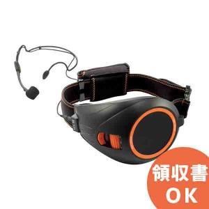 【送料無料】【11月特価品】ER-1000BK TOA ハンズフリー拡声器 ブラック&オレンジ|denchiya