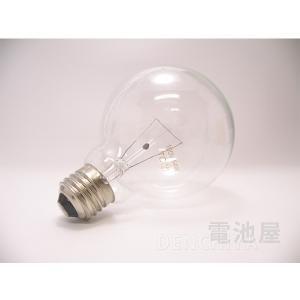 GC100V54W95(クリア色) 同等品 60W形 クリアボール電球 E26口金 10個セット|denchiya