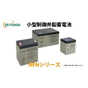 受注品 NPH5-12 GSユアサ製 小形制御弁式鉛蓄電池 高率放電タイプ NPHシリーズ キャンセル返品不可|denchiya