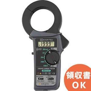 漏れ電流・負荷電流測定用クランプメータキュースナップKEW2413F 大口径トランスコアの採用により...