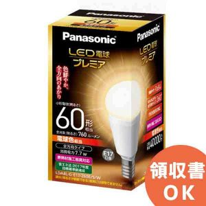 LDA8LGE17Z60ESW パナソニック LED電球プレミア 7.7W(電球色相当)|denchiya