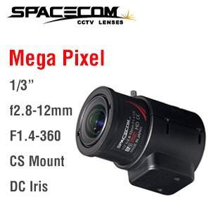 TAV2812DCIR-MP(ヘラクレス) スペース製メガピクセル&ay&Night(対応 焦点距離f2.8-12mmバリフォーカルオートアイリスレンズ|denchiya