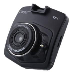 TECDVRFHD-001 TEC(テック) フルハイビジョン録画対応!Gセンサー搭載!ローコストドライブレコーダー|denchiya