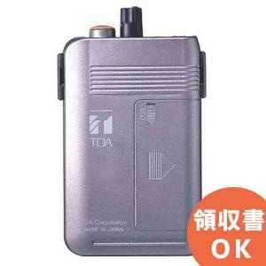 【11月特価品】【送料無料】WT-1101-C12C14 TOA ワイヤレスガイド携帯型受信機 4ch切換式|denchiya