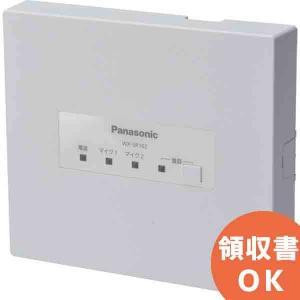 WX-SR102 パナソニック 音響設備 ワイヤレスマイクロホン WX-ST100/WX-ST300用 アンテナ内蔵受信機|denchiya