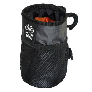 POTA BIKE(ポタバイク) ハンドルセンターポーチ ブロンプトン用ドリンクホルダー/小物入れ denden 10